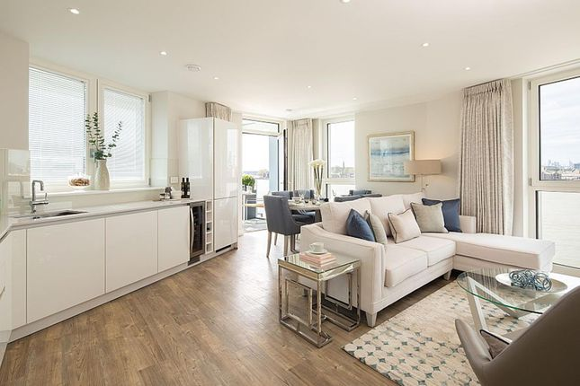 "Thumbnail Flat for sale in ""Shackleton House"" at Christchurch Way, London"