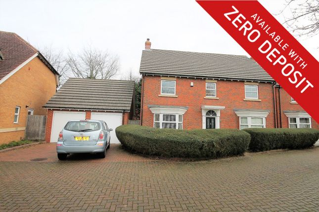 Thumbnail Property to rent in Whitebeam Close, Weston Turville