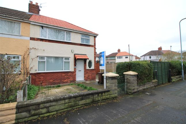 Thumbnail Semi-detached house to rent in Beach Road, Litherland