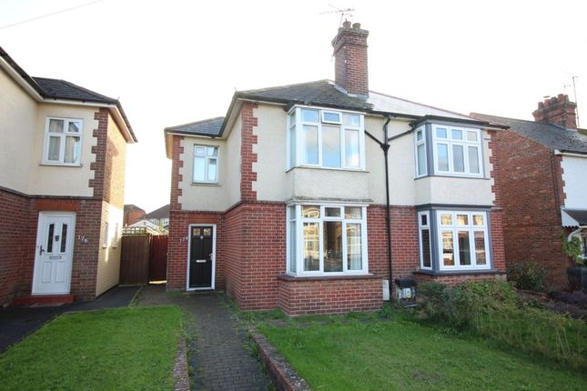 Thumbnail Semi-detached house to rent in Hythe Road, Ashford