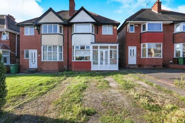 Thumbnail Semi-detached house for sale in Hardwick Road, Solihull, Birmingham, West Midlands