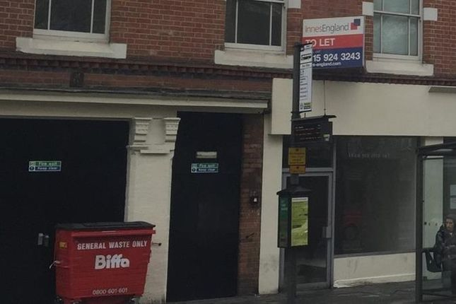 Thumbnail Retail premises to let in Upper Parliament Street, Nottingham, Nottinghamshire