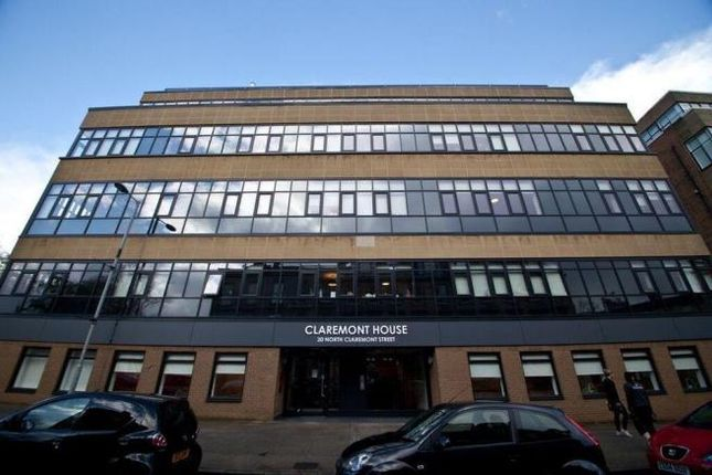 Thumbnail Studio to rent in North Claremont Street, Kelvingrove, Glasgow