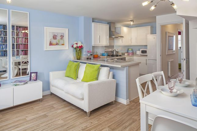 "Thumbnail End terrace house for sale in ""Faversham"" at Fen Street, Brooklands, Milton Keynes"
