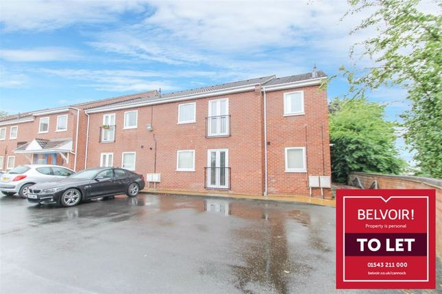 3 bed flat to rent in Coulthwaite Way, Rugeley WS15
