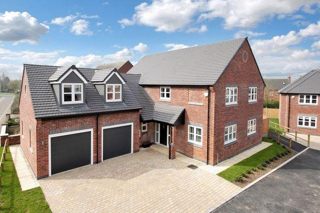 Thumbnail Detached house for sale in Nailstone Road, Carlton, Nuneaton
