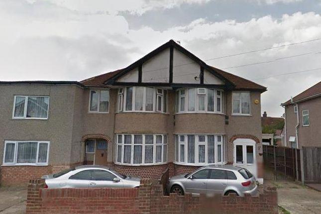 Thumbnail Semi-detached house to rent in Brainton Avenue, Feltham