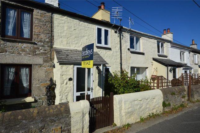 Thumbnail Terraced house for sale in Symons Row, St. Cleer, Liskeard, Cornwall