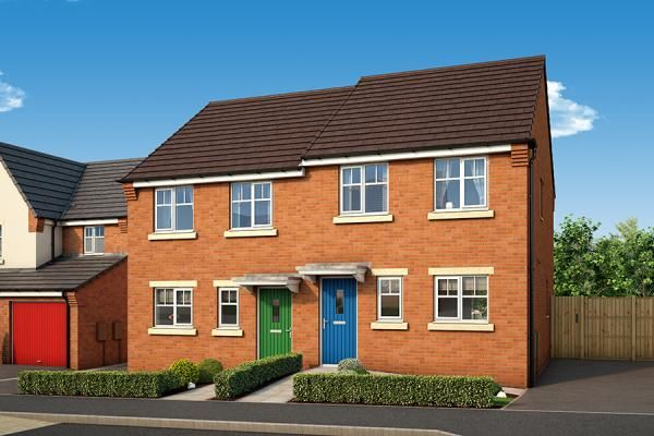 "Thumbnail Property for sale in ""The Maple At The Willows, Dudley"" at Middlepark Road, Dudley"