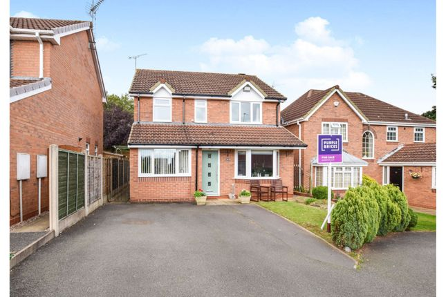 Thumbnail Detached house for sale in Leacroft, Stone