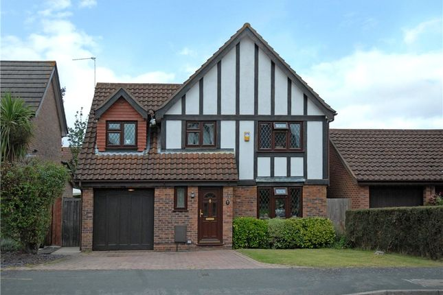 Thumbnail Detached house for sale in Peel Avenue, Frimley, Camberley