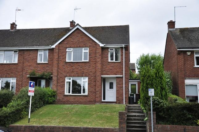 Thumbnail End terrace house to rent in Union Road, Exeter