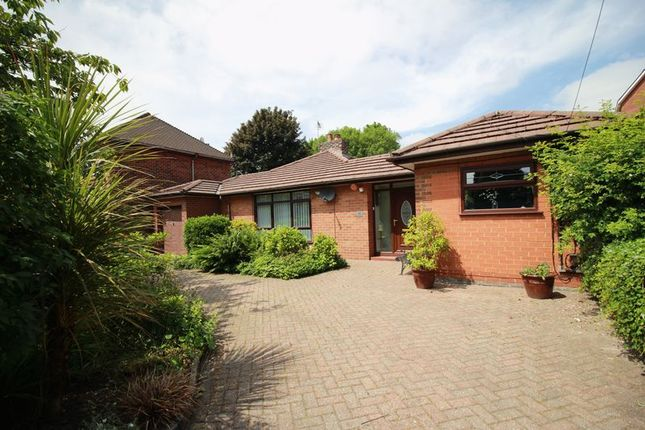 Thumbnail Bungalow for sale in Stockport Road, Denton, Manchester
