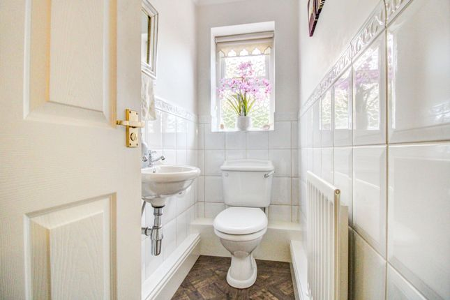 Downstairs WC of Great North Road, Byram, Knottingley WF11