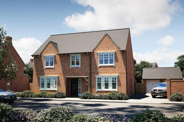 """Thumbnail Detached house for sale in """"The Bolberry"""" at Tile Barn Row, Woolton Hill, Newbury"""