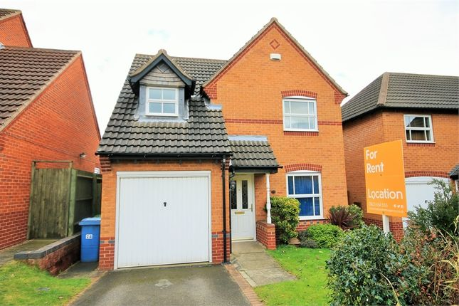 Thumbnail Detached house to rent in Bryony Way, Mansfield Woodhouse, Mansfield, Nottinghamshire