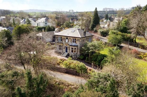 Thumbnail Detached house for sale in Bankend Road, Bridge Of Weir, Renfrewshire