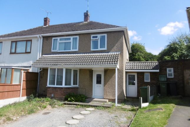 Thumbnail Semi-detached house for sale in Grant Road, Exhall, Coventry