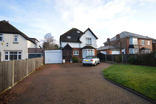 Thumbnail Detached house for sale in Elmdon Lane, Marston Green, Birmingham