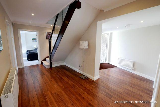 Spacious Hallway:-