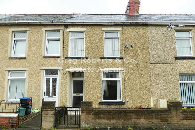 Thumbnail Terraced house for sale in Arnold Place, Tredegar, Blaenau Gwent.
