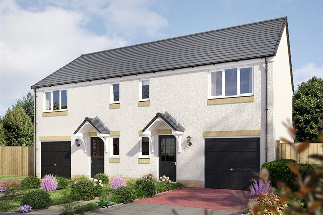 "Thumbnail Semi-detached house for sale in ""The Newton "" at East Muirlands Road, Arbroath"