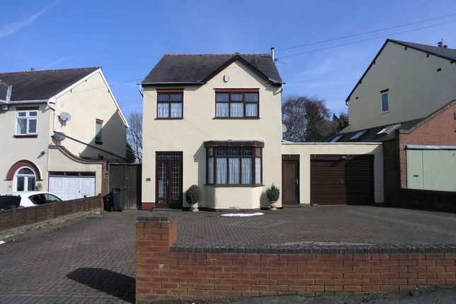 Thumbnail Detached house for sale in Greenhill Road, Halesowen