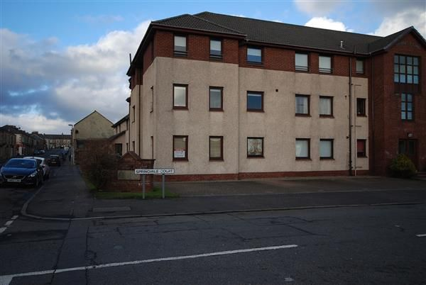 Thumbnail Flat for sale in Springvale Court, Saltcoats