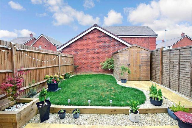 Rear Garden of Gates Drive, Maidstone, Kent ME17
