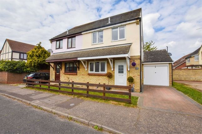 3 bed semi-detached house for sale in Berkley Close, Highwoods, Colchester, Essex