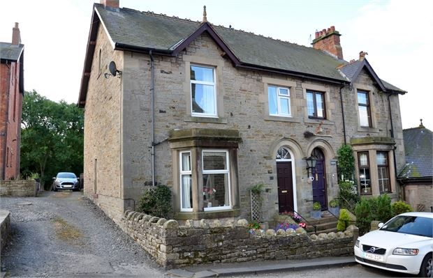 Thumbnail Semi-detached house for sale in Thirlwall Villas, Gilsland, Cumbria.