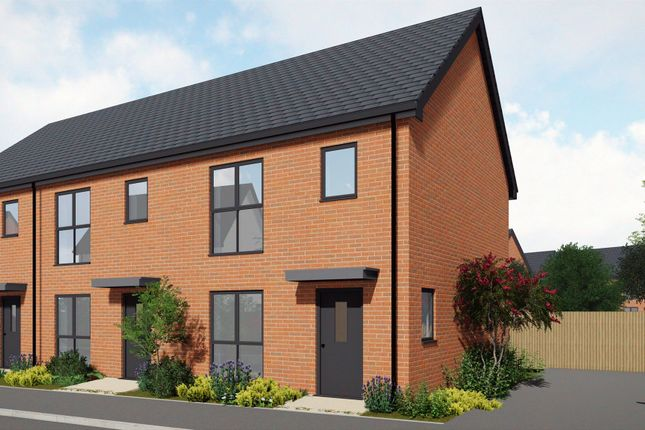 Thumbnail Semi-detached house for sale in Greenhill Lane, Leabrooks, Alfreton