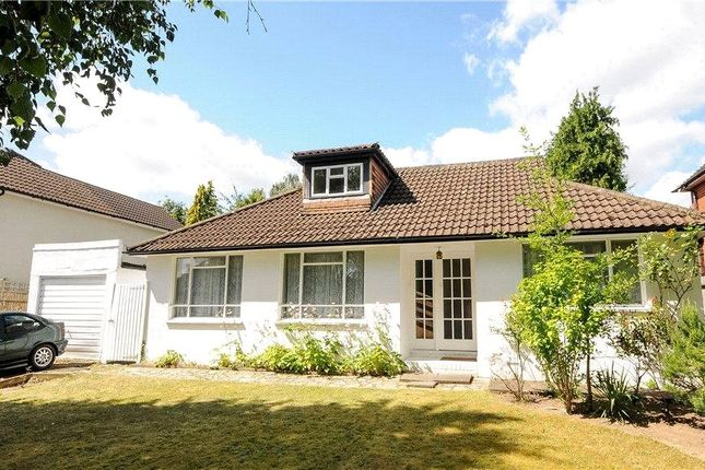 Thumbnail Detached bungalow for sale in Trotsworth Avenue, Virginia Water, Surrey