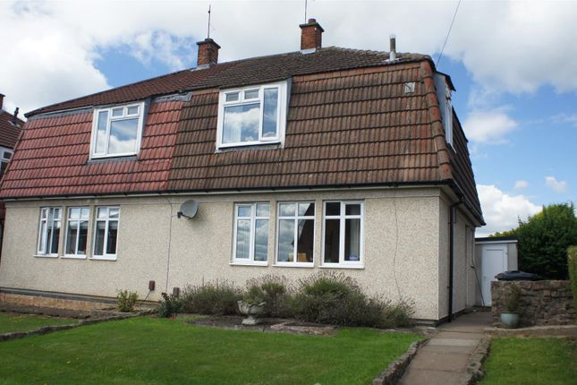 Thumbnail Semi-detached house for sale in Link Road, Anstey, Leicester