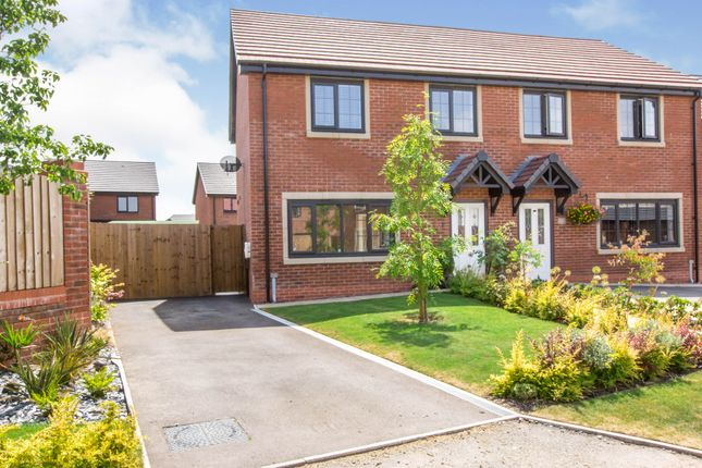 Thumbnail Semi-detached house for sale in Honeysuckle Close, Congleton, Cheshire