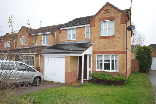 3 bed detached house to rent in Dolver Close, Corby NN18