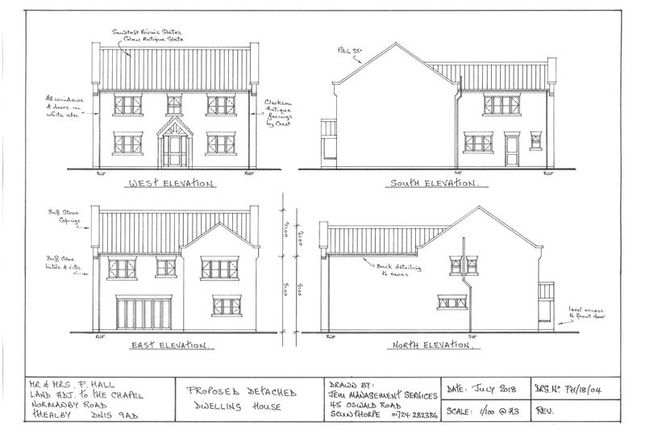 Thumbnail Land for sale in Normanby Road, Thealby, Scunthorpe