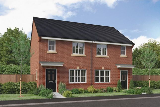 "Thumbnail Mews house for sale in ""The Yare"" at Parkside, Hebburn"