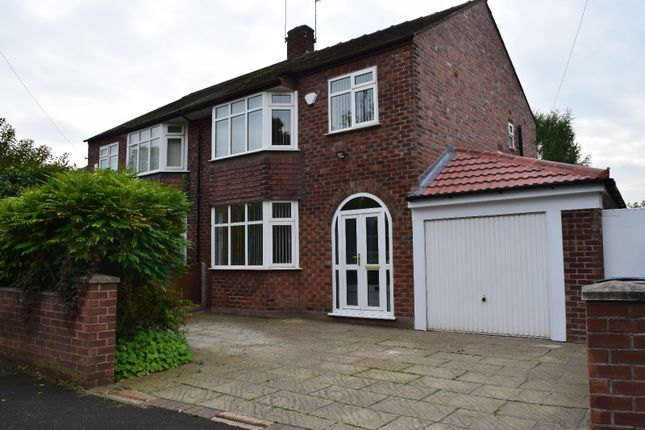 Thumbnail Semi-detached house to rent in Lorna Grove, Gatley, Cheadle