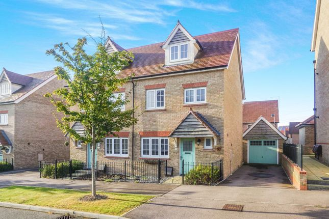 Thumbnail Semi-detached house to rent in Germander Avenue, Rochester