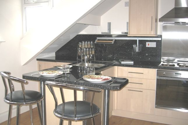 Thumbnail Flat to rent in Norman Terrace, Roundhay, Leeds