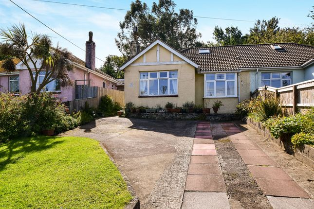 Thumbnail Semi-detached bungalow for sale in Totnes Road, Paignton