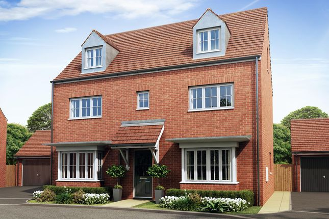 "Thumbnail Detached house for sale in ""Warwick"" at Wheatley Close, Banbury"