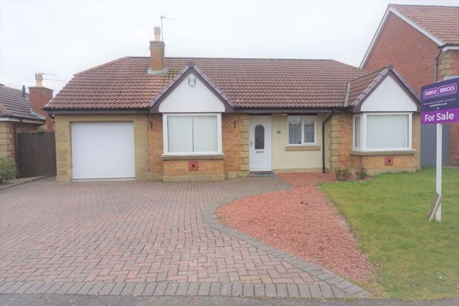 Thumbnail Detached bungalow for sale in Grange Close, South Beach, Blyth
