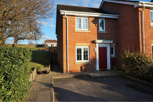 Thumbnail End terrace house for sale in White Tree Close, Fair Oak, Eastleigh