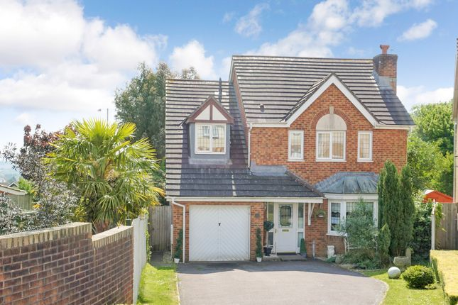 Thumbnail Detached house for sale in Wallwern Wood, Romana Grange, Chepstow, Monmouthshire