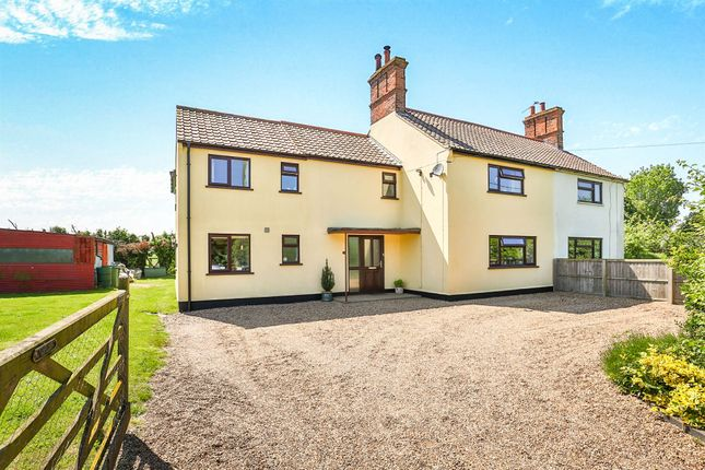 Thumbnail Semi-detached house for sale in Langley Green, Langley, Norwich