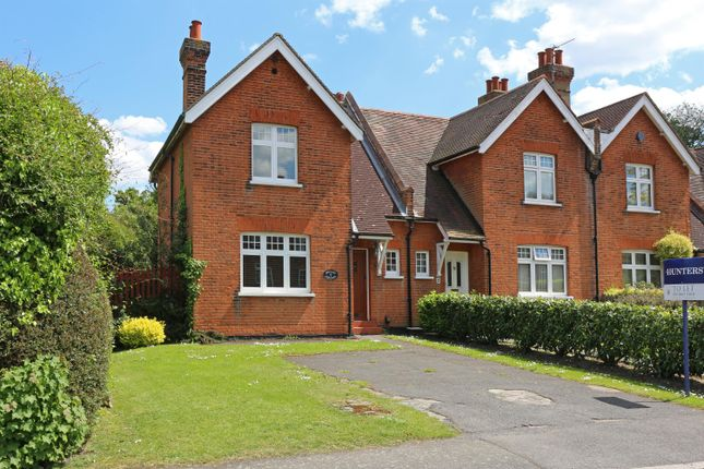 Thumbnail End terrace house to rent in Old Perry Street, Chislehurst