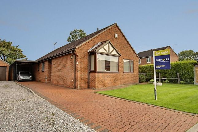 Thumbnail Detached bungalow for sale in The Woodlands, Hedon, Hull