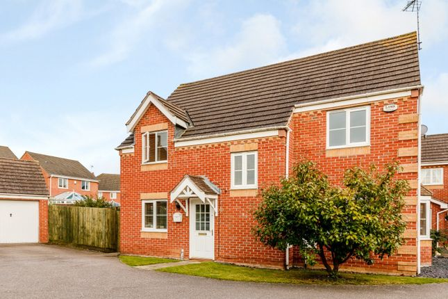 Thumbnail Detached house for sale in Shackleton Close, Bedford, Bedford